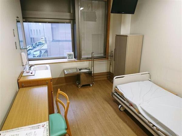 放射性医薬品を使った治療専用の病室(金沢大提供)